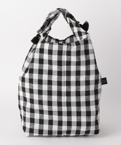 <Fatima Morocco>ギンガムチェック バッグインバッグ