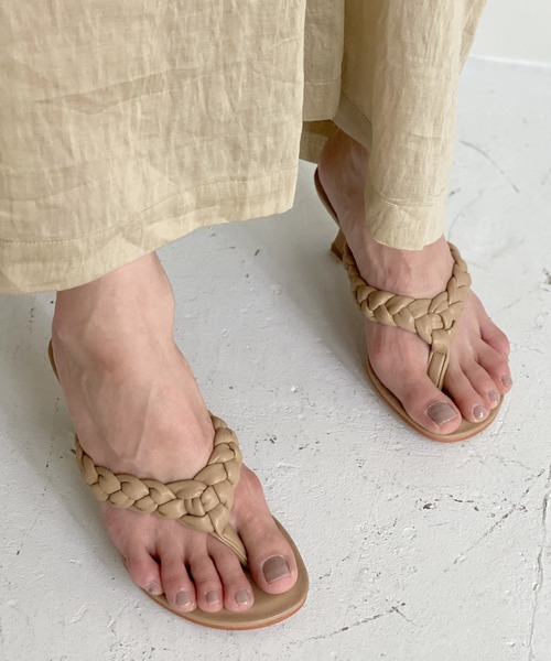 【chuclla】【2021/SS】Twist thongs sandal chs123