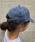 meJane(ミージェーン)の「ニューハッタンキャップ(キャップ)」|ブルーパープル