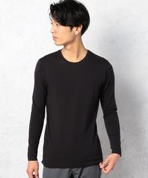 KC ◎THERMO/G C/N L/S インナーカットソー◆