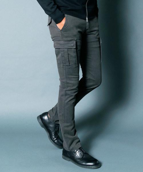 100%正規品 SULFUR STRETCH TIGHT CARGO PANTS:サルファーストレッチ STRETCH タイトカーゴパンツ(カーゴパンツ) TIGHT CARGO|Magine(マージン)のファッション通販, 秋定砿油Onlinestore:3b4d2167 --- svarogday.com