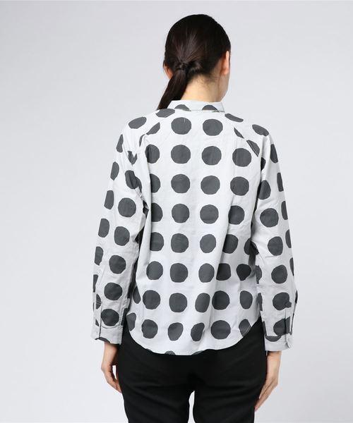 スナップボタンシャツ マル(160cm)