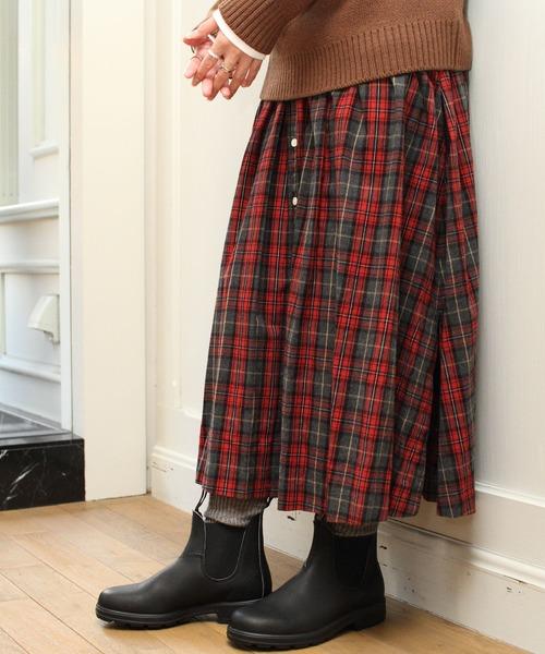 【超歓迎された】 GYMPHLEX/ジムフレックス ビエラチェックスカート #J-1360(スカート) GYMPHLEX(ジムフレックス)のファッション通販, 財布ベルトの専門店 東京リッチ:eb5577b1 --- blog.buypower.ng