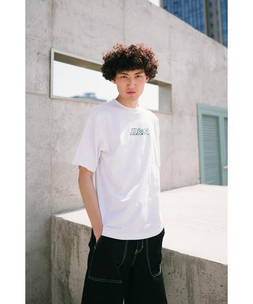 Dickies(ディッキーズ)の「【メンズ】ロゴプリント半袖Tシャツ(Tシャツ/カットソー)」 ホワイト