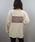 tiptop(ティップトップ)の「【ZOZO限定アイテム】後ろボックスロゴビッグロンT(Tシャツ/カットソー)」|ベージュ