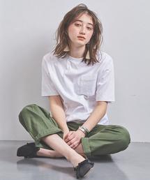 <Charcoal TOKYO(チャコール トーキョー)>ポケット Tシャツ ■■■◆