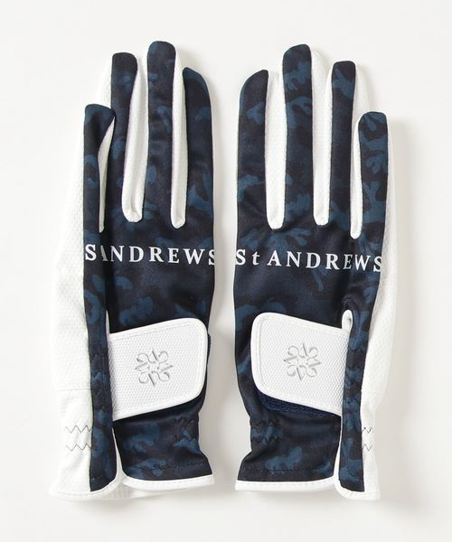 【St ANDREWS】カモフラグローブ両手 (WOMENS)