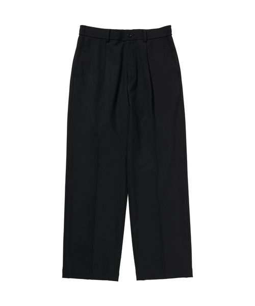 WIDE TAPERED EASY SLACKS