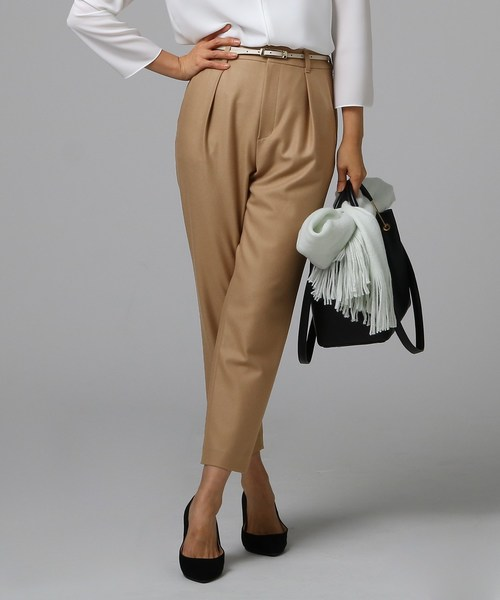 2019年新作 【セール】微起毛テーパードパンツ(パンツ)|UNTITLED(アンタイトル)のファッション通販, 度会町:d7877c26 --- blog.buypower.ng