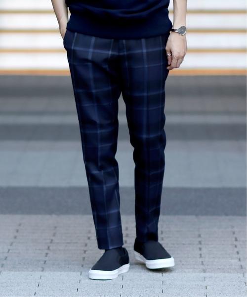激安単価で SAXONY CHECK CHECK PANTS(パンツ)|EDIFICE(エディフィス)のファッション通販, 名入れ彫刻ギフトのアトリエエイム:edd0ccb9 --- ulasuga-guggen.de
