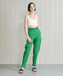 <H>CURVE PANTS/パンツ