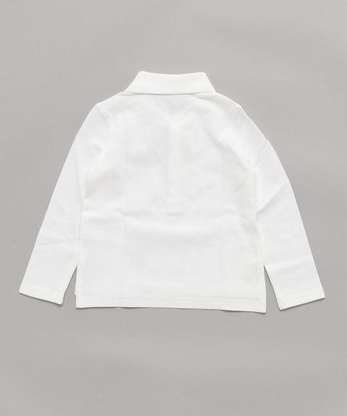 ストレッチ コットンメッシュ ポロシャツ