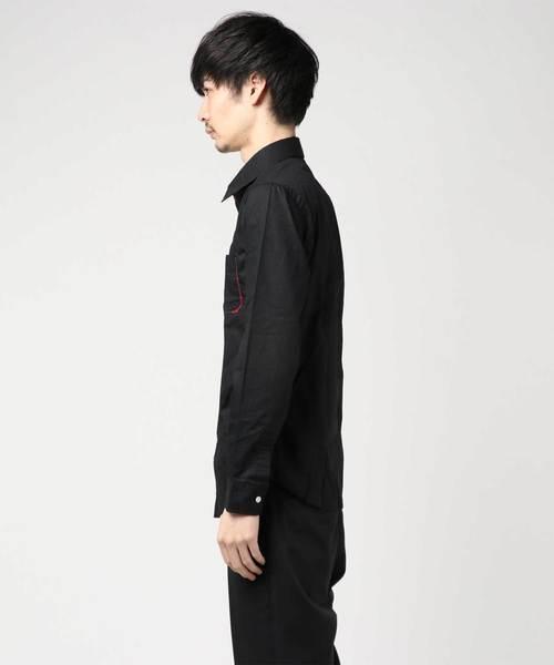 日本製ブロードチェックノゾキレギュラー長袖シャツ AGT