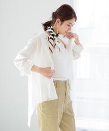 Loungedress(ラウンジドレス)のバックTieシャツ(シャツ/ブラウス)