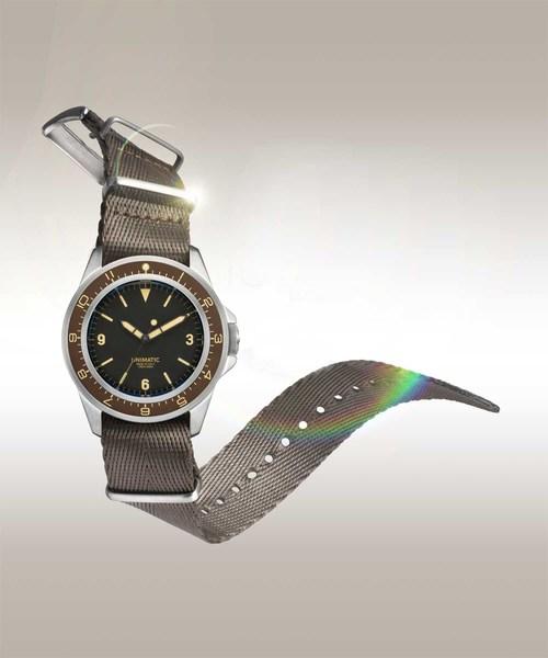 ADAM ET ROPE'(アダムエロペ)の「【UNIMATIC × BIOTOP】Modello Uno U1-BTP(腕時計)」|その他