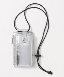 UN3D.(アンスリード)のロゴアイフォンケース(ハンドバッグ)