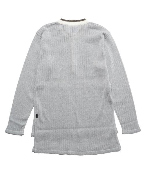 Murphy henley neck knit / マーフィーヘンリーネックニット
