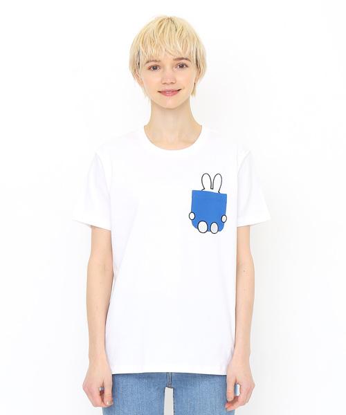 コラボレーションTシャツ/本とミッフィー(ミッフィー)