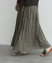 OZOC(オゾック)の[洗える]ワッシャープリーツスカート(スカート)