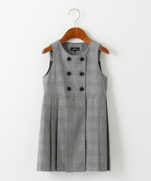 TW グレンチェック ジャンパースカート