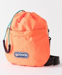 ENCANTO SHOULDER 111103 巾着バッグ ショルダーバッグ ブランドロゴオレンジ