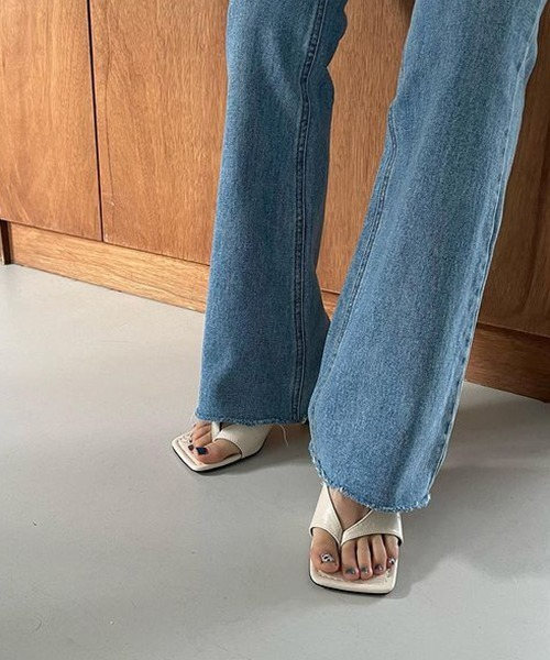 【chuclla】【2021/SS】 V-cut tong sandal chs127