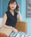 ASTORIA ODIER(アストリアオディール)の「【UVカット加工/接触冷感】バックリボン フレンチスリーブサマーニット(ニット/セーター)」|ブラック