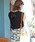 ASTORIA ODIER(アストリアオディール)の「【UVカット加工/接触冷感】バックリボン フレンチスリーブサマーニット(ニット/セーター)」|詳細画像