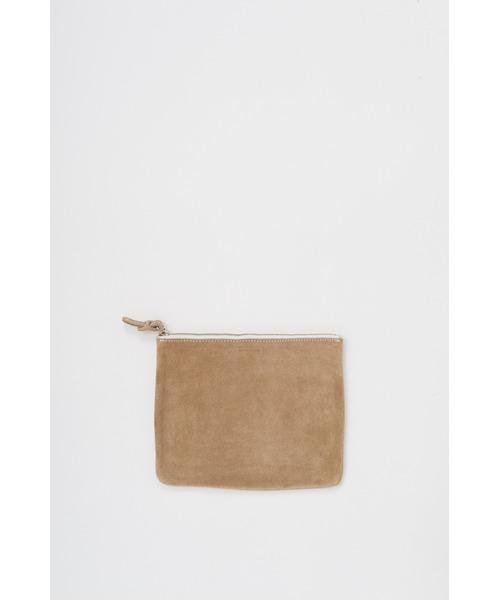 Hender Scheme(エンダースキーマ)の「pocket M(ポーチ)」|ベージュ