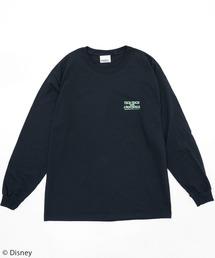 【Disney/ディズニー/ピーター・パン/ワニ】ロングTシャツブラック