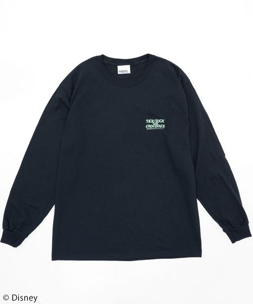 【Disney/ディズニー/ピーター・パン/ワニ】ロングTシャツ