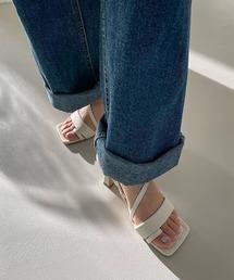 【chuclla】【2021/SS】Strap sandal chs128オフホワイト