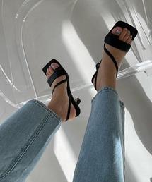 【chuclla】【2021/SS】Strap sandal chs128ブラック