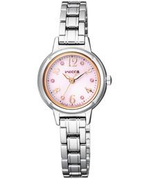 wicca ウィッカ ソーラーテック スワロフスキー(R)・クリスタル入りモデル(腕時計)