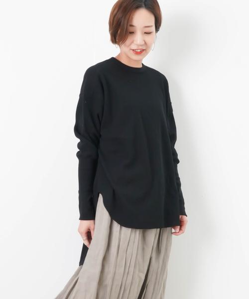 804cb80c30e セール】LC/LLL サーマル後ろZIPプルオーバー(Tシャツ/カットソー ...