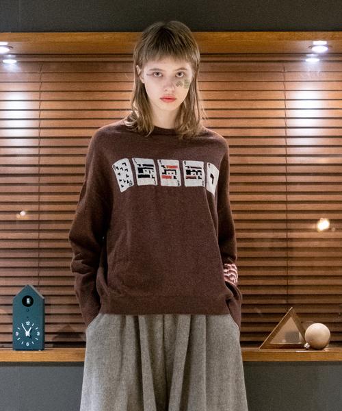 素敵な 2019秋冬 ピクセルトランプセーター(ニット/セーター)|STOF(ストフ)のファッション通販, ティーピーファクトリー:267224cb --- kredo24.ru
