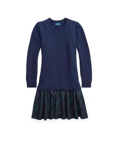 新品同様 プラッド LAUREN コットンブレンド ドレス(ワンピース)|Polo Ralph RALPH Lauren Childrenswear(ポロラルフローレンチャイルドウェア)のファッション通販, 大人かわいい/シャイニングピンク:fb56faa9 --- 888tattoo.eu.org