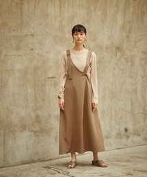 miette(ミエット)のAライン2wayジャンパースカート(ワンピース)