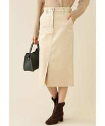 NATURAL BEAUTY BASIC(ナチュラルビューティベーシック)のコーデュロイスカート(スカート)
