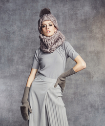 DOUBLE STANDARD CLOTHING(ダブルスタンダードクロージング)のDSC. レッキスラビットミトングローブ(その他)