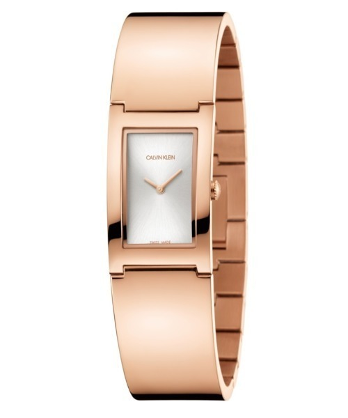 [カルバンクライン] CALVIN KLEIN 腕時計 Polished(ポリッシュト) 2針 シルバー×ゴールド