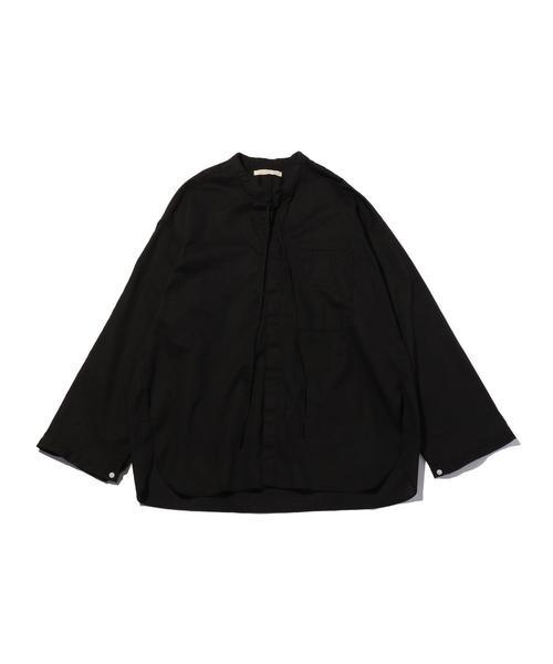 <ANEI> OPEN NECK TUNIC/チュニックシャツ