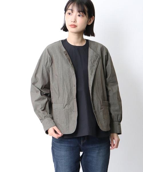 【 ubasoku / ウバソク 】 ショートブルゾン ub-0048 BNT・・