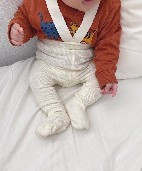 【SANSeLF】knit suspender pants sank3
