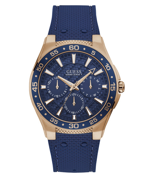 ふるさと納税 GUESS WATCHES ATLANTIC ATLANTIC (ROSE WATCHES GOLD/BLUE)(腕時計) (ROSE|Guess(ゲス)のファッション通販, Se-magasin:1c24cb63 --- dpu.kalbarprov.go.id