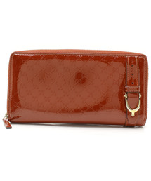 019dcce431a3 GUCCI(グッチ)の古着「マイクログッチシマ ラウンドジップ長財布(財布)
