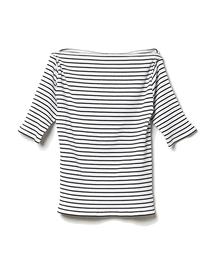 DRWCYS(ドロシーズ)のテレコボートネックトップス(Tシャツ/カットソー)