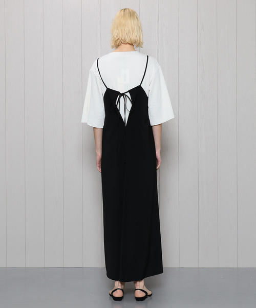 <M/M ATTACHMENT>HOLTER NECK DRESS/ワンピース