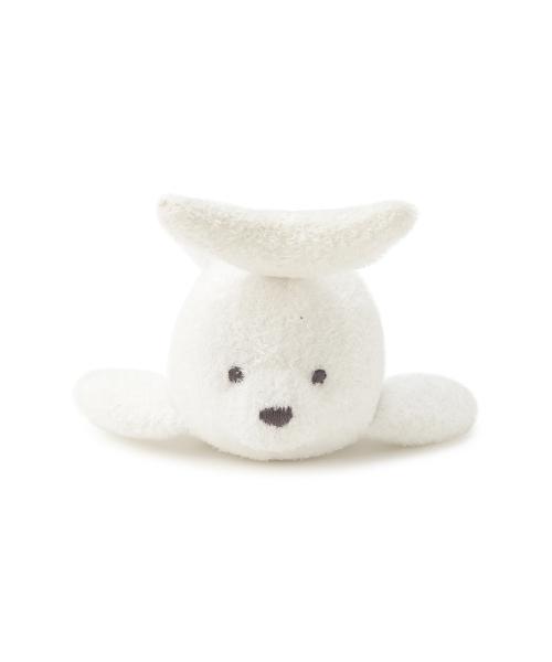 e8123b666b83cc gelato pique(ジェラートピケ)の'スムーズィー'アザラシ baby ガラガラ(ベビー用品