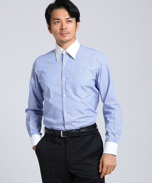 代引き人気 【セール】ダブルストライプクレリックシャツ(シャツ/ブラウス)|TAKEO KIKUCHI(タケオキクチ)のファッション通販, Neore:15134316 --- pyme.pe